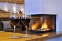 Gemütliches Zusammenkommen in der Lounge im Pinzgau