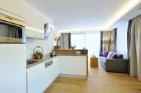 Wohnküche im Appartement in Maria Alm