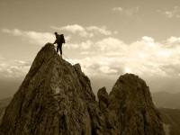 Auf schmalem Grat im Pinzgau