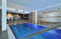 Indoor Pool im Sunnsait in Maria Alm im Salzburger Land