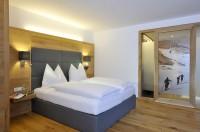 Schlafzimmer im Appartementhaus im Salzburger Land