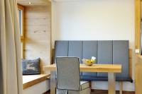 Gemütliche Wohnküche im Sunnsait Appartement im Salzburger Land