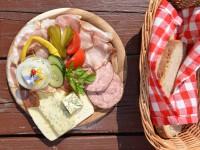 G'schmackige Jause typisch für das Salzburger Land