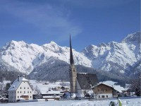Maria Alm im Winter - Sunnsait Appartements