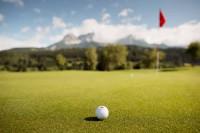 Golfplatz mit Panorama im Salzburger Land