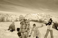 Schneespaß im Pinzgau