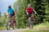 Mountainbiker am Hochkönig