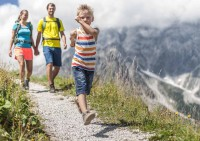 Familienwanderung im Salzburgerland
