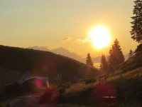 Huskycamp im Salzburger Land