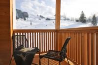 Das Skigebiet Hochkönig direkt vor dem Haus - Appartements in Maria Alm