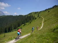 Mountainbiker in Maria Alm